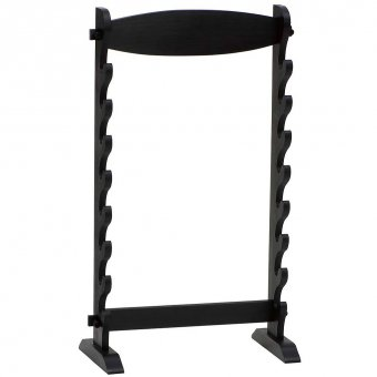 Table stand for eight Samurai swords