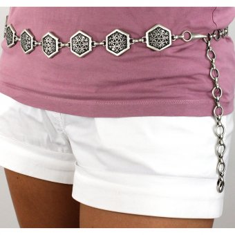 Chain lady's belt