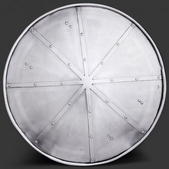 Reinforced domed shield 50,5cm