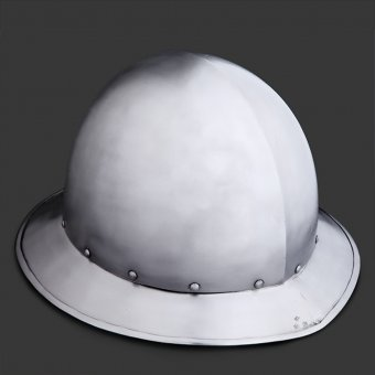 Spanish Kettle hat with short brim
