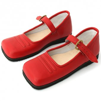 Ladies` Cow-Mouth shoes