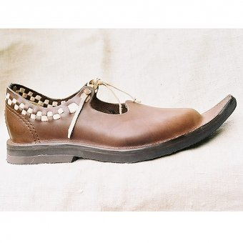 Ladies low leather shoes Court Lady