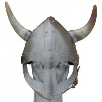 Viking helm with horns