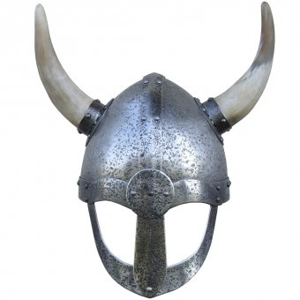 Viking helmet with horns