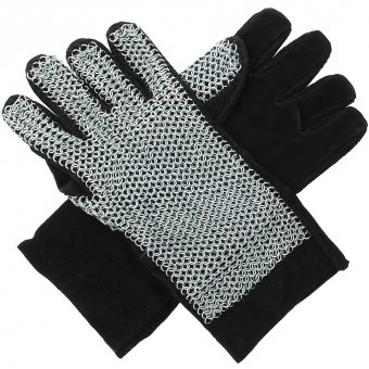 Chain mail gloves