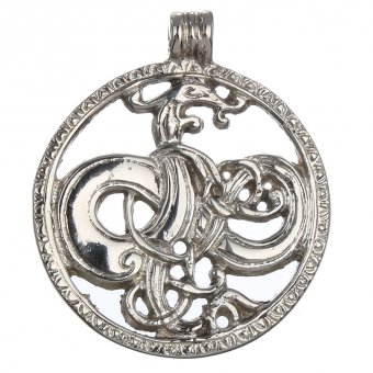 Silver-plated Amulet of Urnes Style