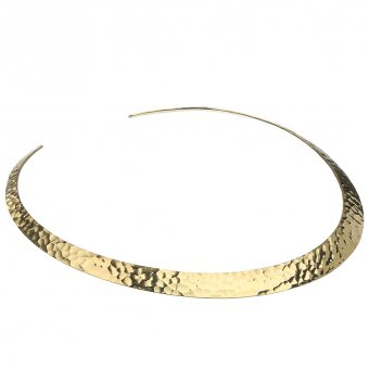 Wide choker, wrought