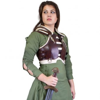 Leather Female Armour Rogue for LARP