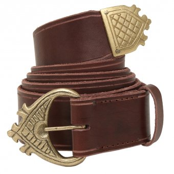 Leather belt High Gothic