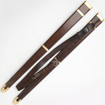 Back scabbard with wooden core