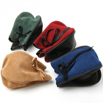 Leather pouch 17cm