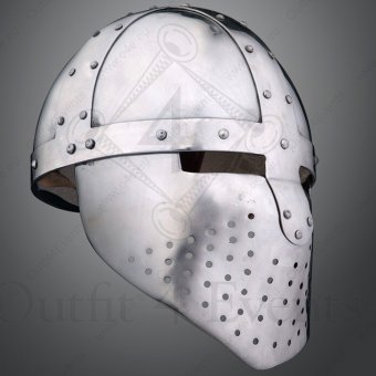Spangenhelm with Facial Mask