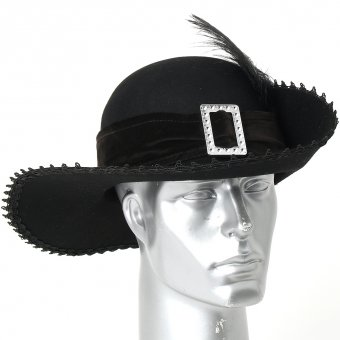 Baroque Hat with feather