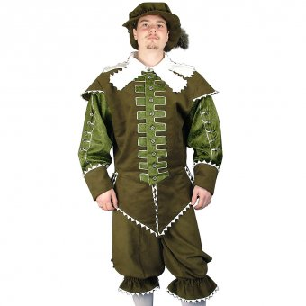 Baroque costume Musketeer