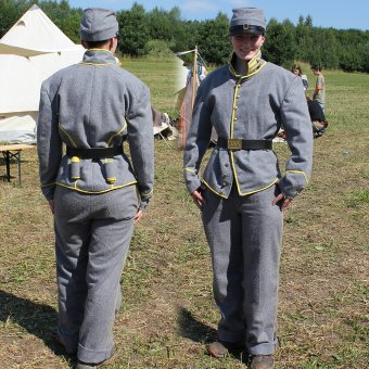Confederate Infantry Uniform, American Civil War