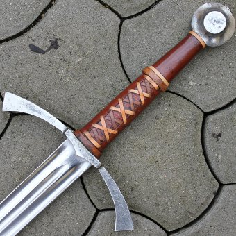 Gothic one-and-a-half sword Athaulf, full-contact