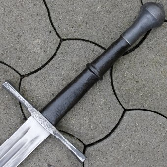 Gothic one-and-a-half sword Zangwill, full-contact
