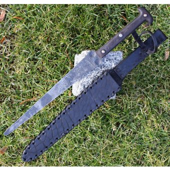 Gothic dagger Audric with patina finish