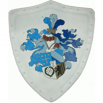 Shield with coat of arms