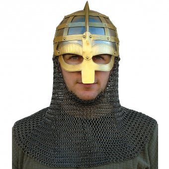 Vendel helmet with optional aventail