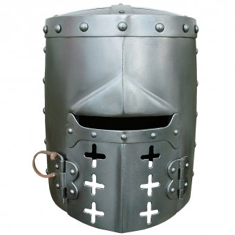 Great helm with face gate