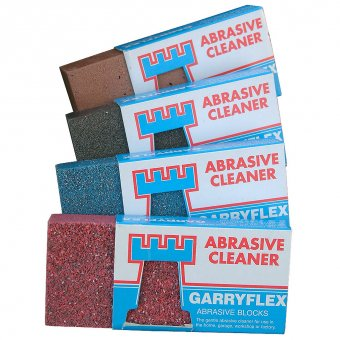 Abrasive metal cleaner