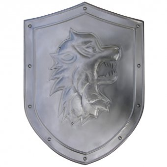 Shield with coat of arms, decoration