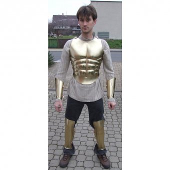 Lorica Musculata, Roman anatomically formed armor