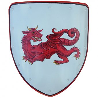 Shield with Welsh Dragon