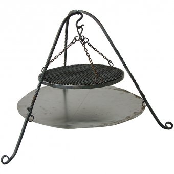 Campfire trivet with Grill