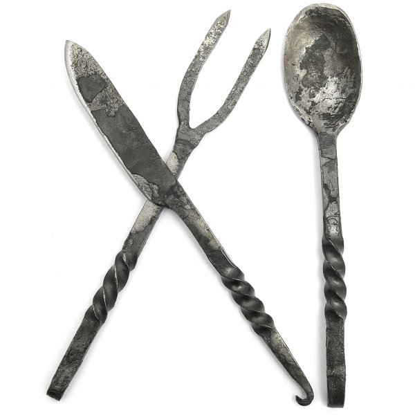 Medieval eating cutlery outfit4events - Medieval silverware ...