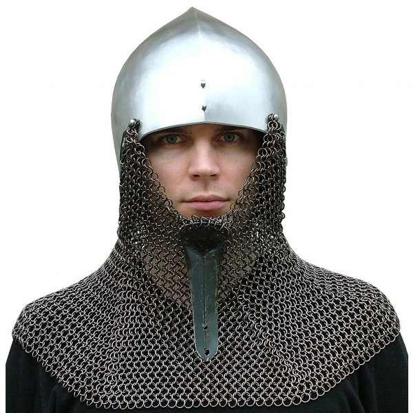 Vendel helmet with optional aventail | Outfit4Events