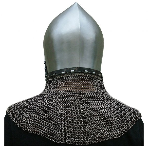 Early Viking Spangenhelm with optional aventail | Outfit4Events