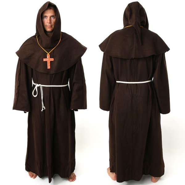 Cowl Franciscan Monk | Outfit4Events - 37.1KB
