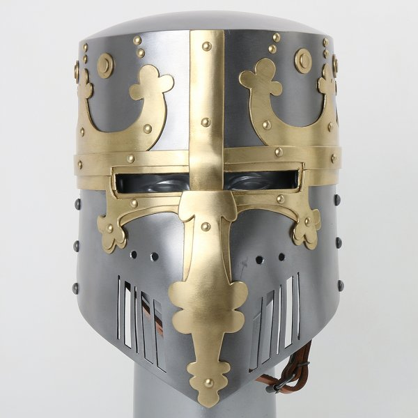 how to make a knight helmet