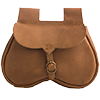 Girdle purses and kidney belt pouches