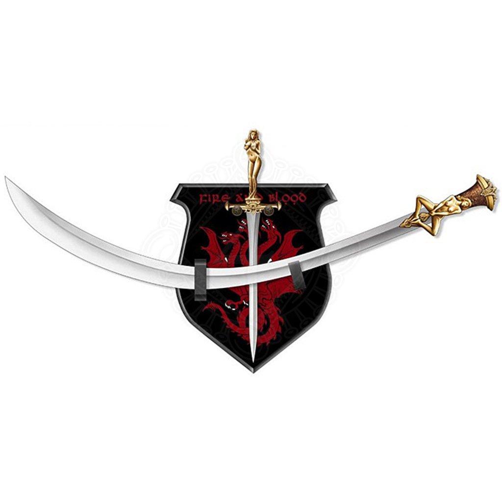 Daario's Ladies, Daario Naharis' Arakh and Stiletto ... Daario Naharis Swords