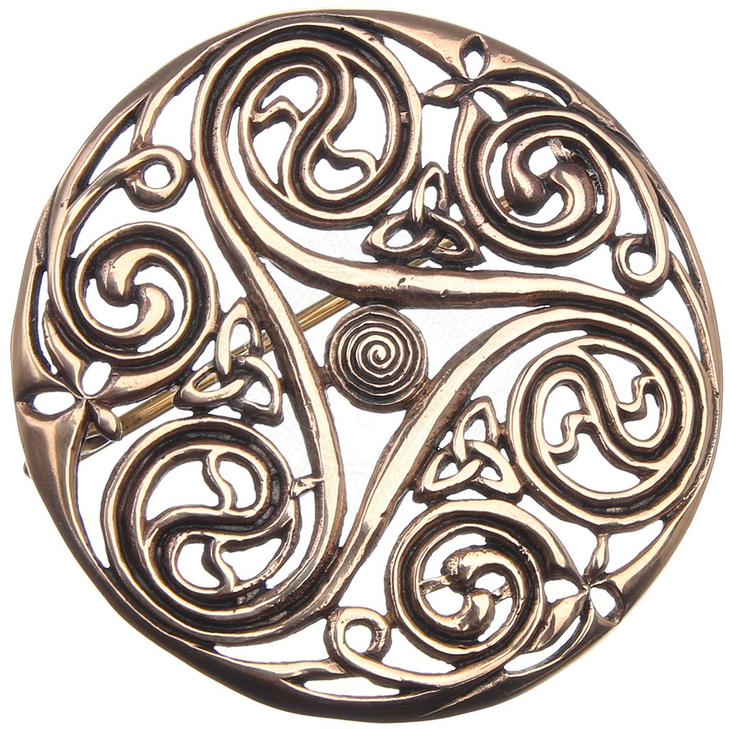 com smithy decorated iron wulflund works brooches viking brooch celtic