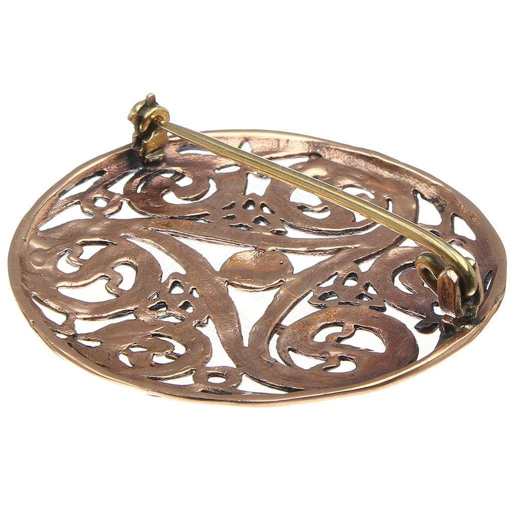 brooch gold irish hallmarked rare solid celtic heavy ardagh product
