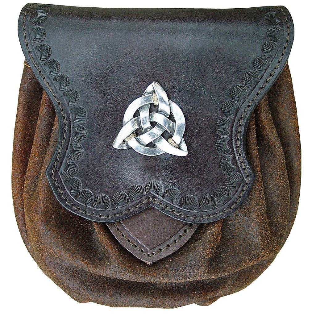 celtic leather belt pouch triquetta outfit4events