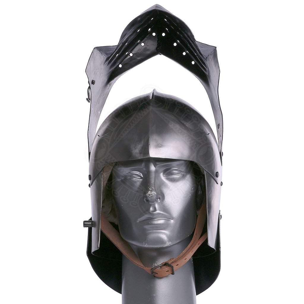 Late transitional sallet 1480-1500 | Outfit4Events