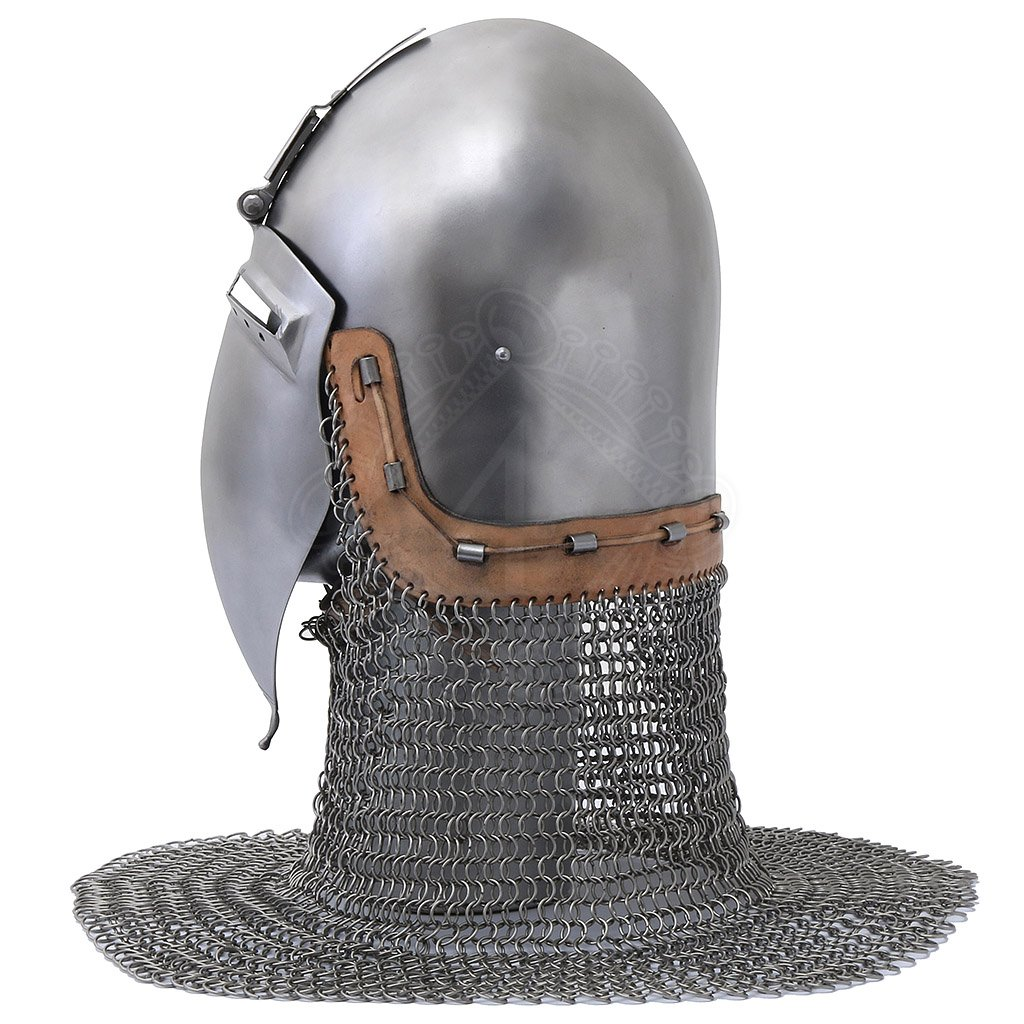 Klappvisor Bascinet about 1370 | Outfit4Events