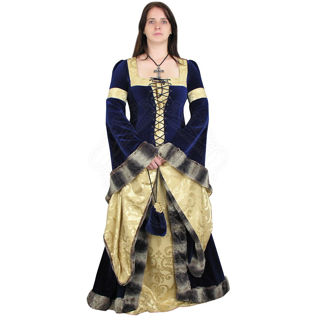 dress french gothic style 15 cen outfit4events. Black Bedroom Furniture Sets. Home Design Ideas