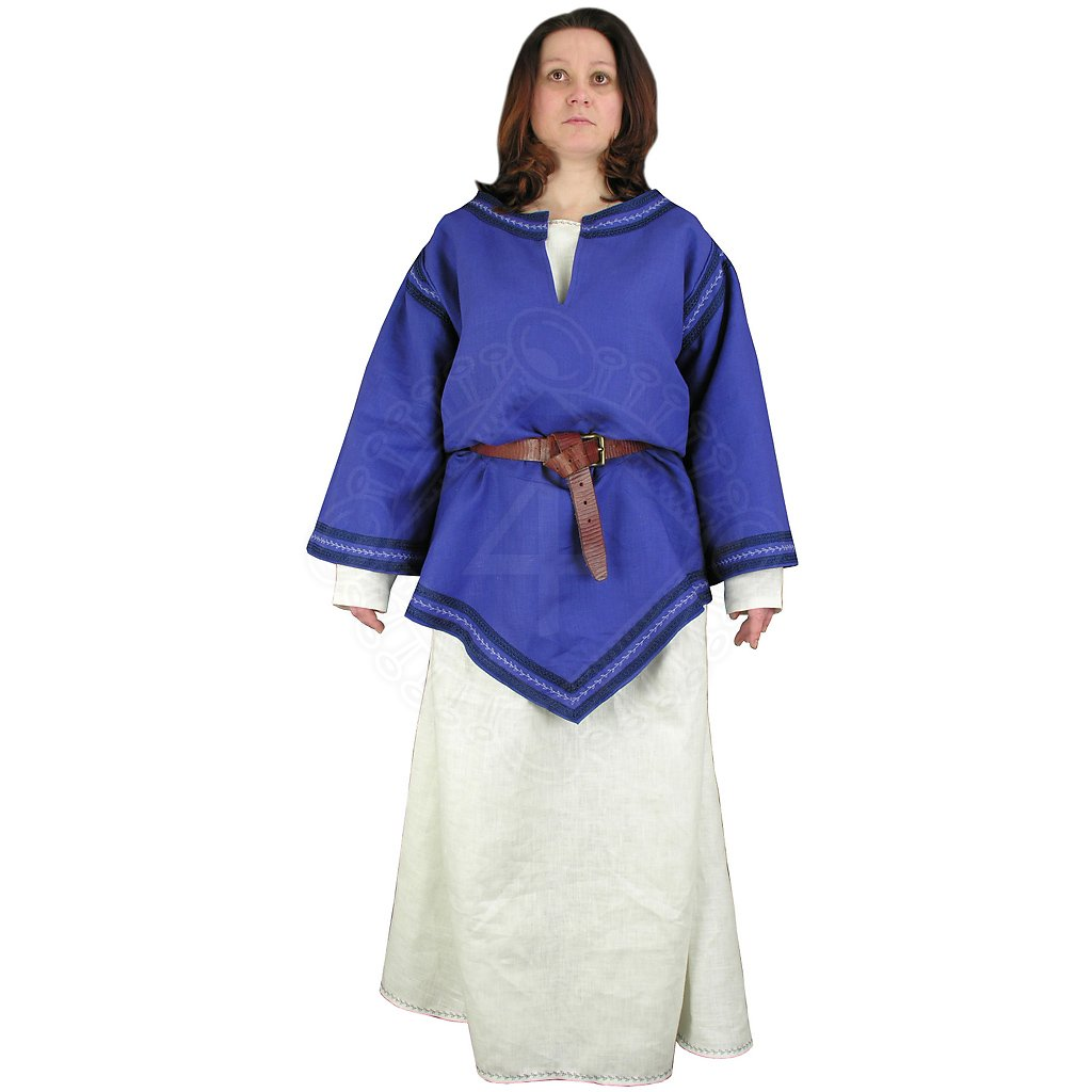 Bliaud, ladies' clothing 14th century   Outfit4Events