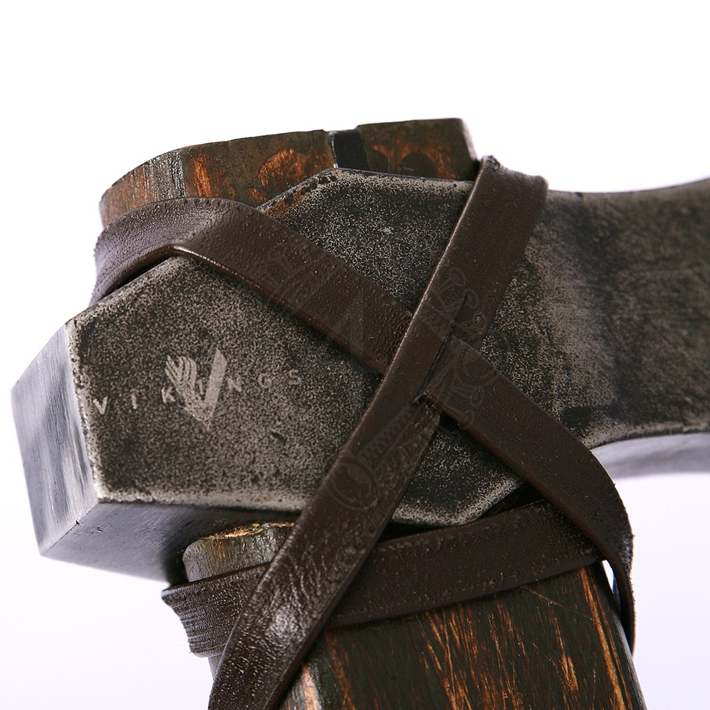The Ragnar Collection-Leather in-hand show chain Black /& Brown
