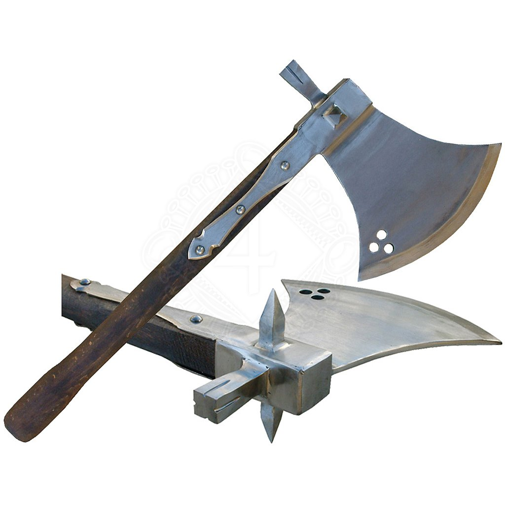War axe with hammer, 16th century   Outfit4Events