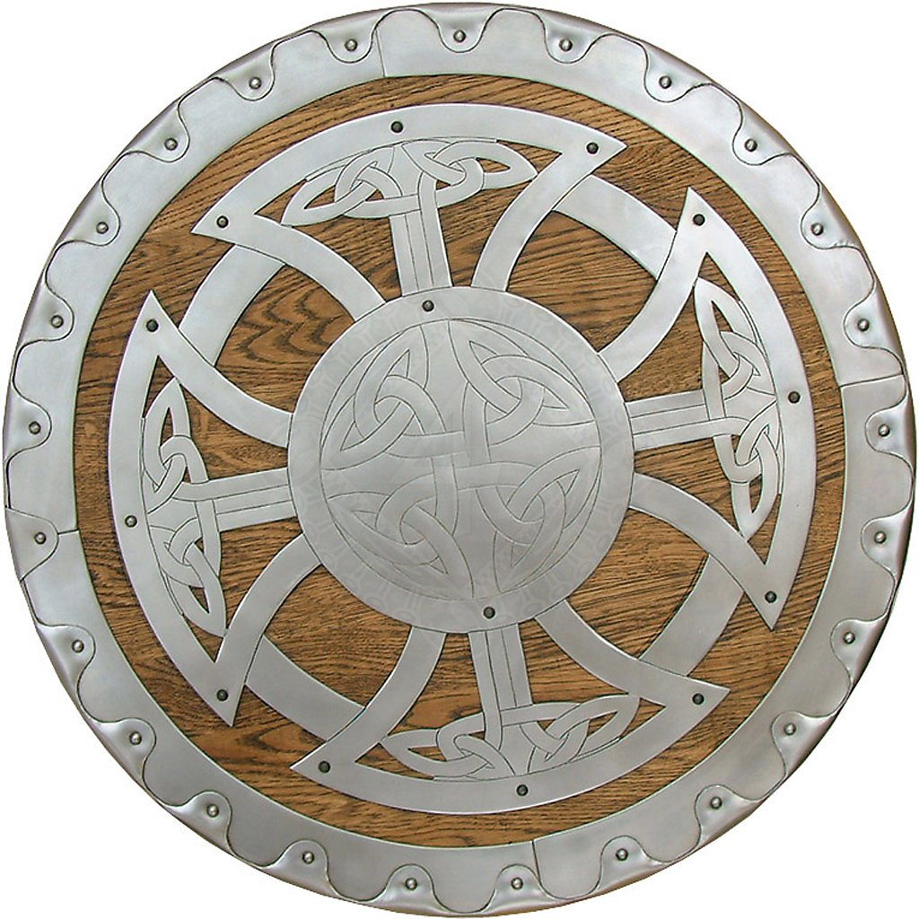 Viking round shield de Luxe 55cm | Outfit4Events