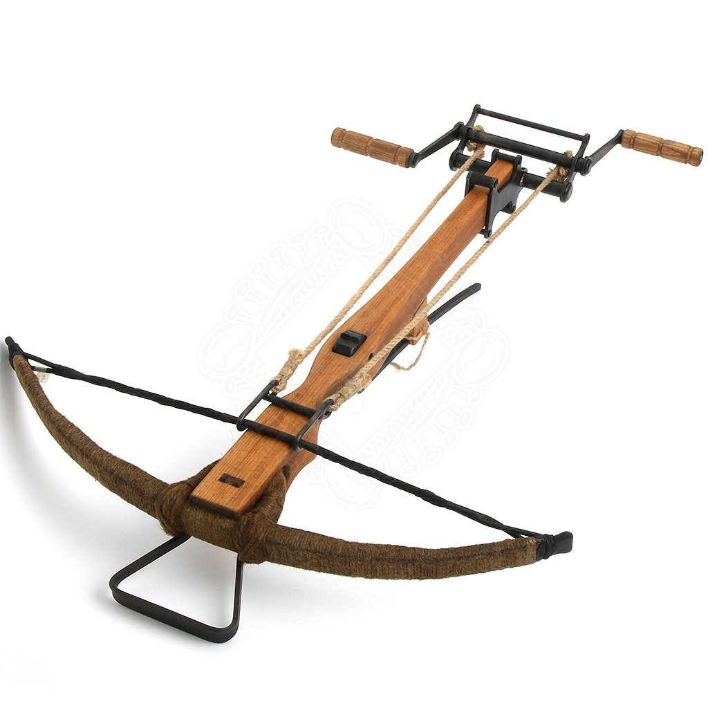 how to make a medieval crossbow