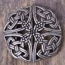 "Belt Buckle ""Celtic knot pattern"" perforated"