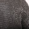Chainmail Hauberk - Alternating Dome Riveted Flat Rings